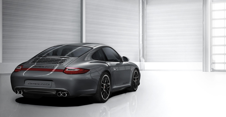 2011 Porsche 911 carrera 4 GTS - Rear angle view