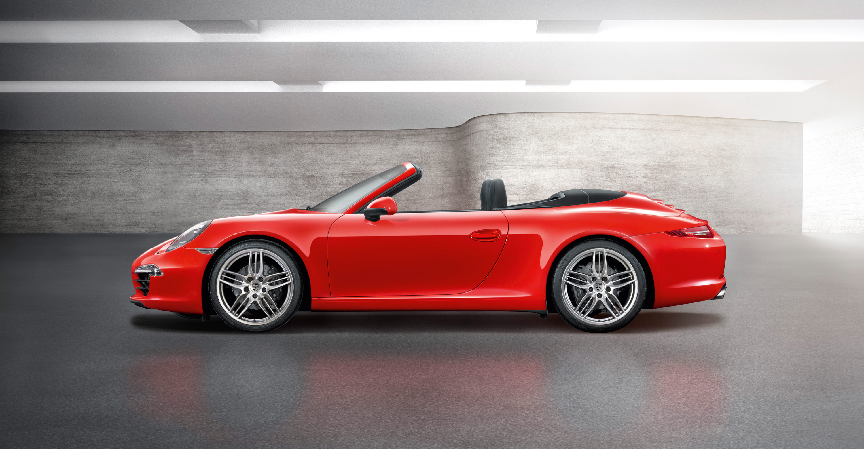 2012 Porsche 911 Carrera Cabriolet - Side view