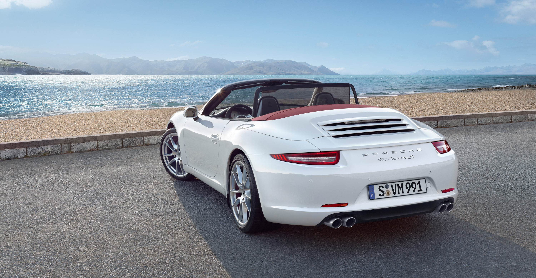 2012 Porsche 911 Carrera S Cabriolet - Rear angle view