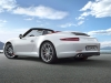 2012 Porsche 911 Carrera S Cabriolet - Rear angle side view