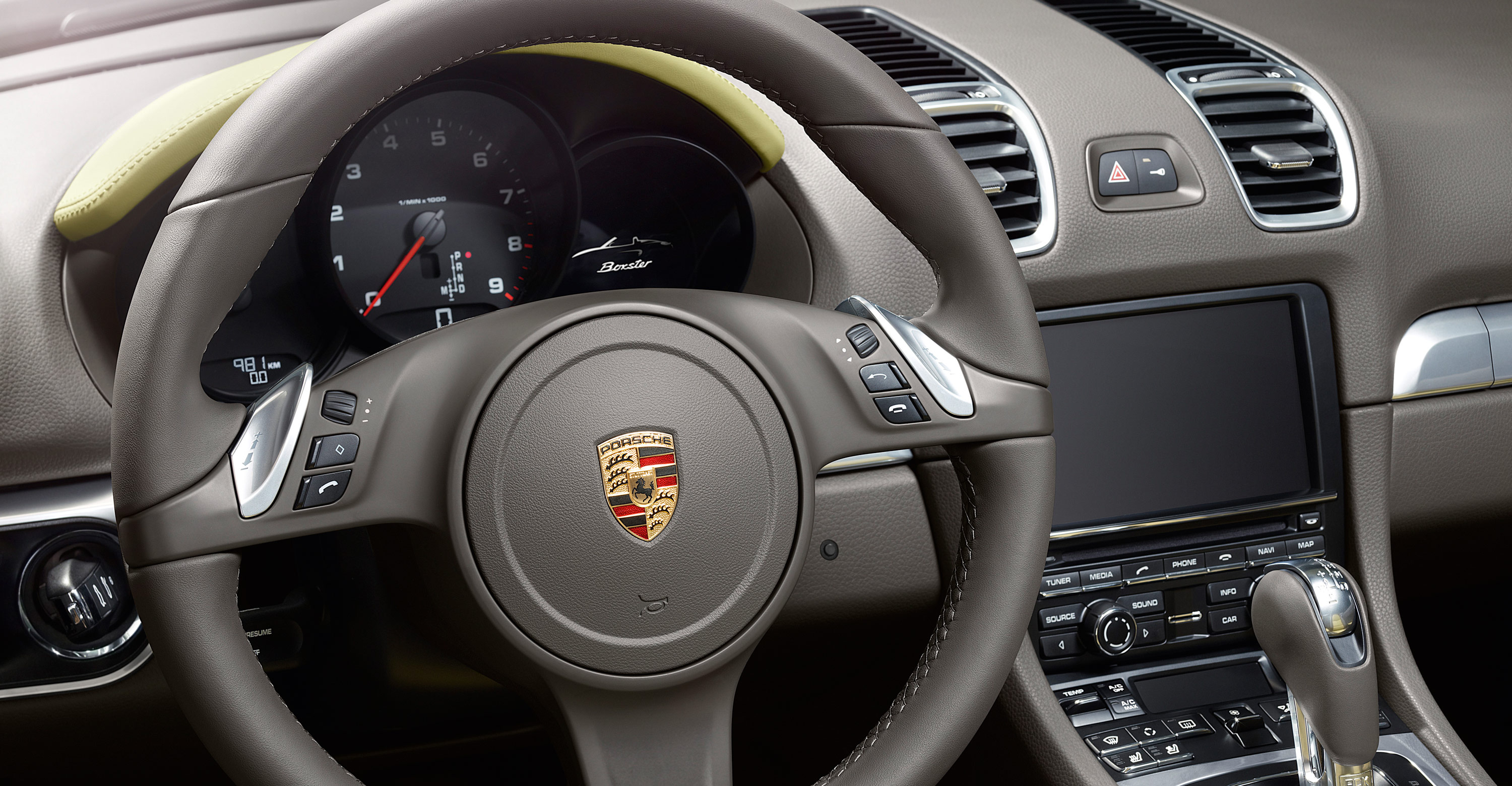 2012 Porsche Boxster - Interior, Steering wheel