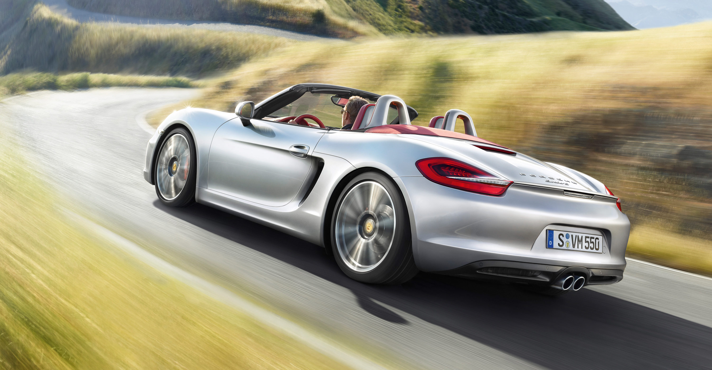 2012 Porsche Boxster S - Rear angle side view
