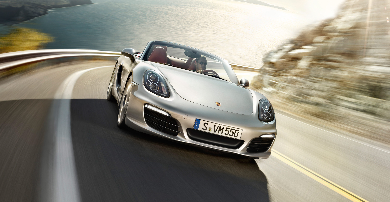 2012 Porsche Boxster S - Front view