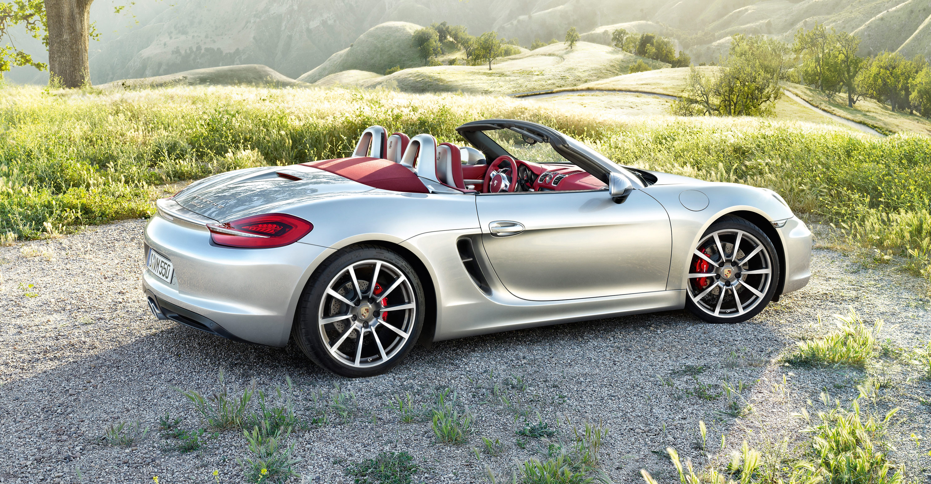 2012 Porsche Boxster S - Side view