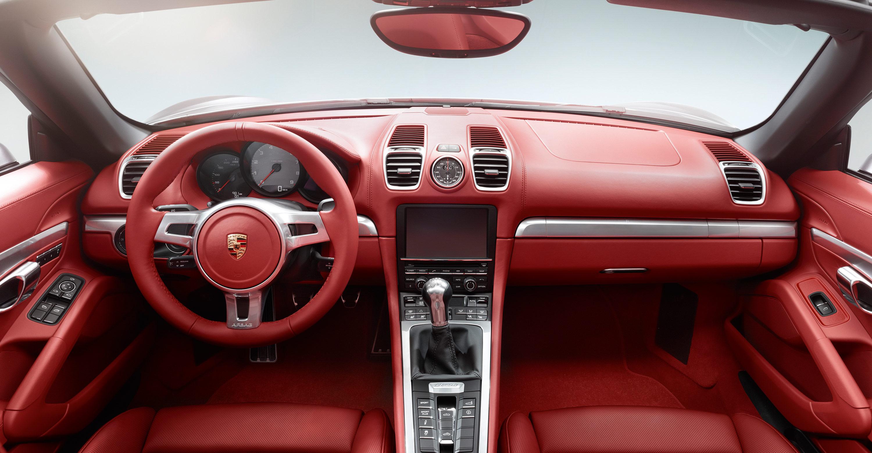 2012 Porsche Boxster S - Red interior
