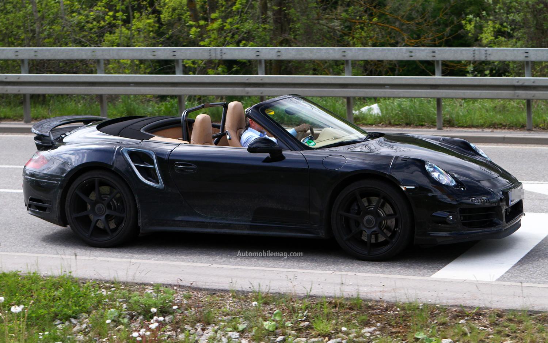 2013 Porsche 911 Turbo Cabriolet Porsche Spy Shots