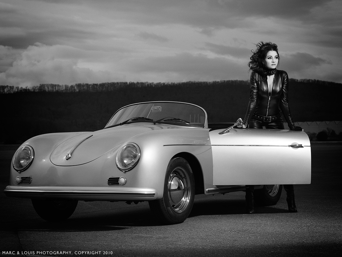 Car Girl And Porsche Porsche Photogallery Vol 4