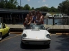 Car girl and Porsche 911 hooters