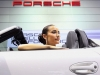 Car Girl and Porsche
