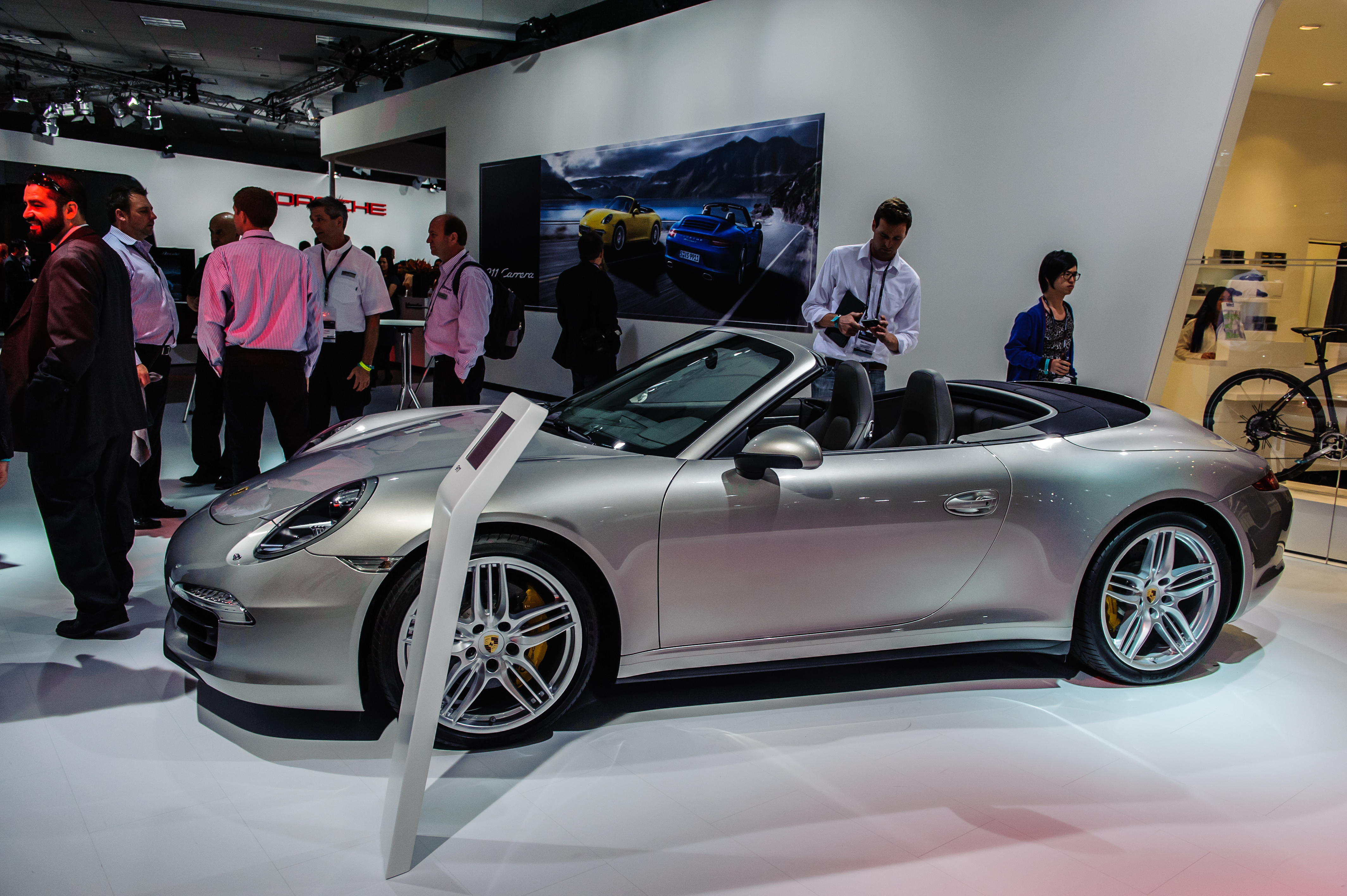 2012 Porsche 911 Carrera 4S at 2012 L.A. Auto Show by lexster05