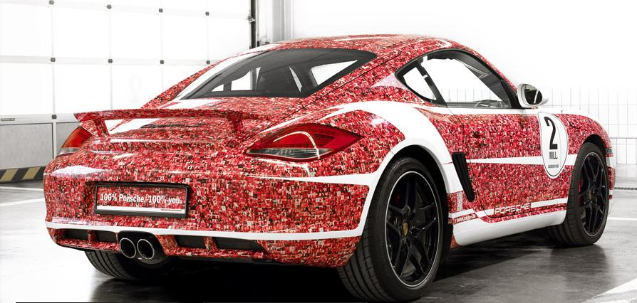 Porsche Cayman S Facebook fan car