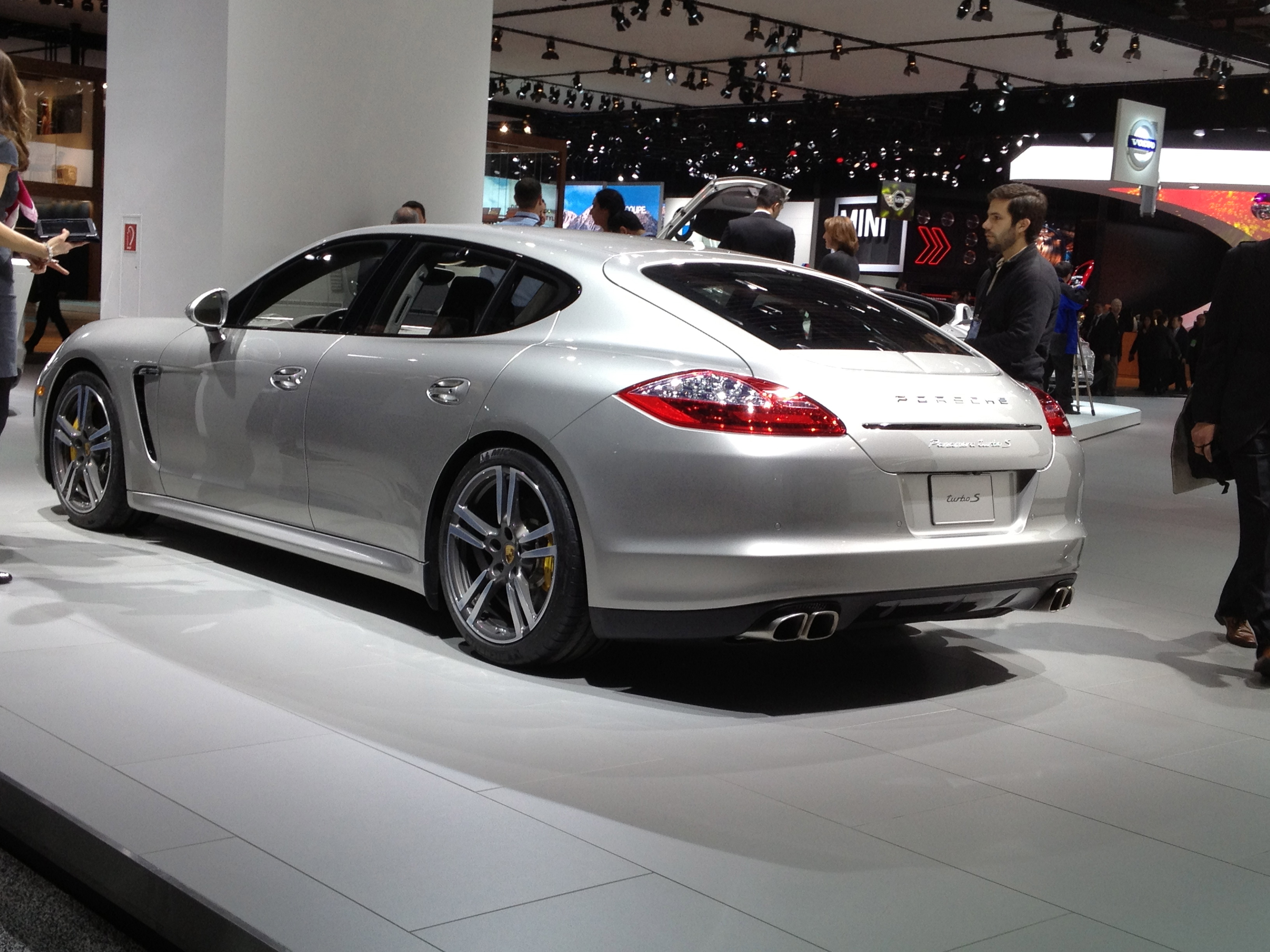 2013 Porsche Panamera at NAIAS 2013 By ecokarenlee