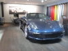 2013 Porsche Boxster Blue at NAIAS 2013 By Boss Mustang