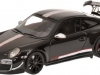Porsche gift: 2011 Porsche 911 GT3 RS 4.0 997 II in black diecast model car in 1/43 scale model