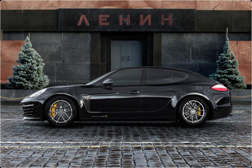 Porsche tuning: Porsche Panamera Stingray GTR Crocodile by TopCar