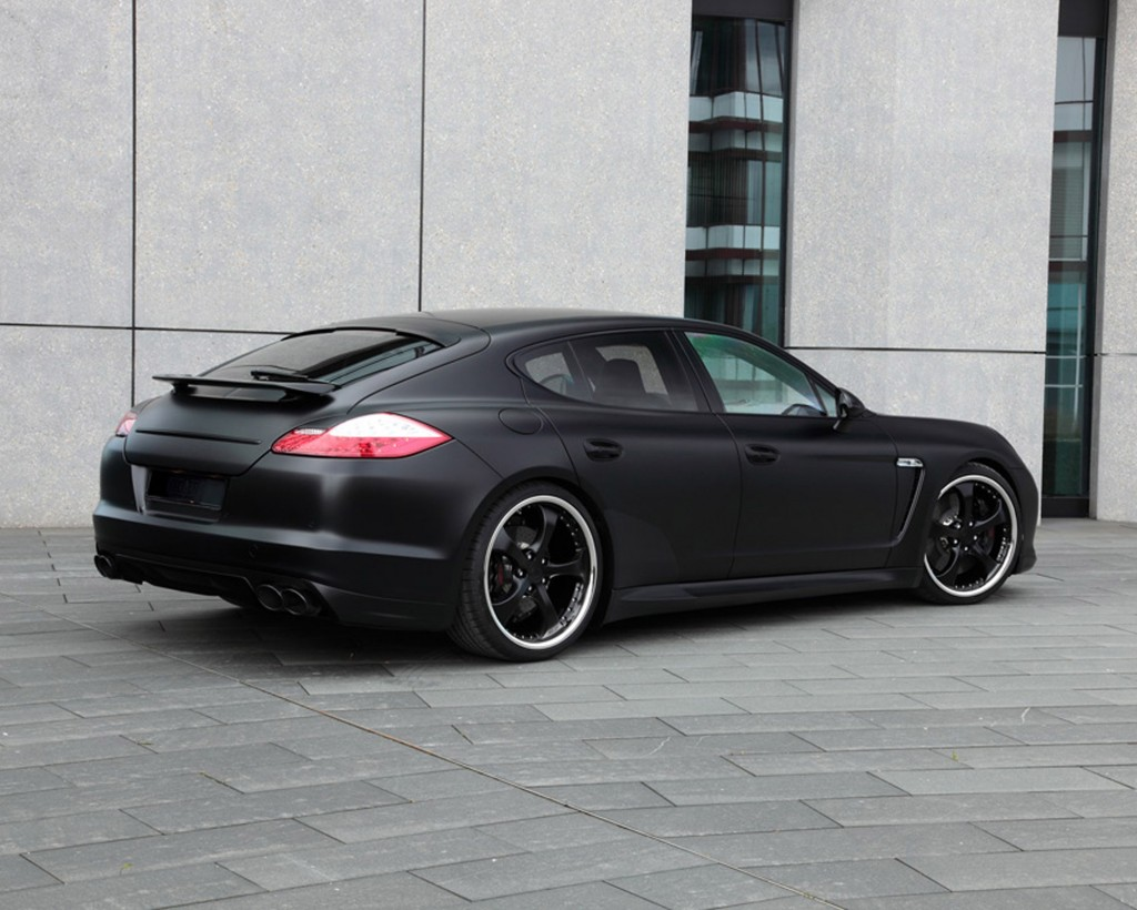 TechArt Tuning - Porsche Panamera Black Edition