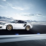 2011 Porsche 911 GT2 RS wallpaper Side view