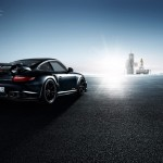 2011 Porsche 911 GT2 RS wallpaper Rear angle view