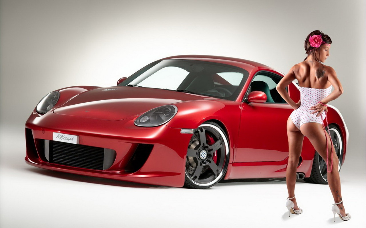 Porsche Amp Car Girls Wallpapers