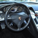 Jerry Seinfeld's Porsche Carrera GT Interior Steering wheel