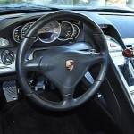 Jerry Seinfeld's Porsche Carrera GT Interior Steering wheel