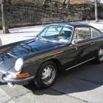Jerry Seinfeld's black Porsche 911