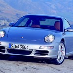 Porsche 997 911 Carrera C4S wallpaper Front angle view