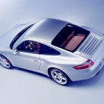 Porsche 997 911 Carrera C4S wallpaper Top angle view