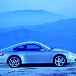 Porsche 997 911 Carrera C4S wallpaper Side view