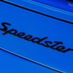 2010 blue Porsche 911 Speedster Sign