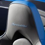 2010 blue Porsche 911 Speedster Interior Seats