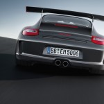 2010 Grey Black Guards Red Porsche 911 GT3 RS wallpaper Rear view