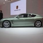 2011 Geneva Motor Show Porsche Panamera Hybrid Side view