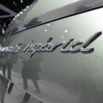 2011 Geneva Motor Show Porsche Panamera Hybrid Sign