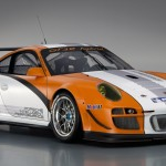 2011 Porsche 911 GT3 R Hybrid 2.0 Front angle view