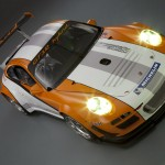 2011 Porsche 911 GT3 R Hybrid 2.0 Front top angle view