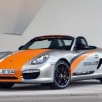 2011 Electric Porsche Boxter E Front angle