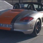 2011 Electric Porsche Boxter E Rear angle