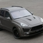 2011 Porsche Cayenne FAB Design Front angle top view