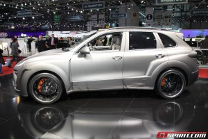 2011 Porsche Cayenne FAB Design in Geneva Motor Show Side view