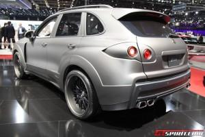 2011 Porsche Cayenne FAB Design in Geneva Motor Show Rear angle view