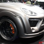 2011 Porsche Cayenne FAB Design in Geneva Motor Show Front angle view