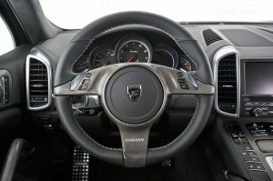 2011 Porsche Cayenne Guardian by Hamann Interior Steering wheel