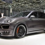 2011 Porsche Cayenne Guardian by Hamann Geneva Motor Show Front angle view