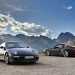 2011 Porsche 911 Black edition Cabrio and hard top