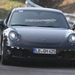 2012 Porsche 911 (991) spy shots Front view