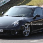 2012 Porsche 911 (991) spy Front angle view