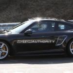 2012 Porsche 911 (991) spy shots Side view