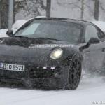 2012 Porsche 911 (991) spy shots