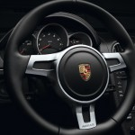 2012 Porsche Boxster S Black Edition Steering wheel